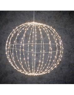 Bola decorativa con 400leds incorporados ip44 50cm
