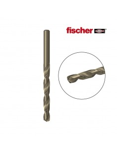 Broca metal hss-co 8,0x75/117 / 1k  fischer