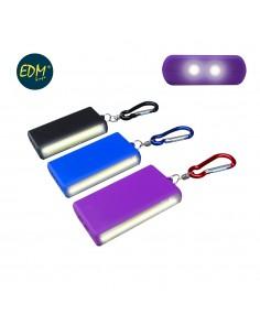 Linterna led xl compacta pilas incluidas colores surtidos