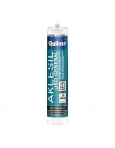 Alkesil silicona negro cartucho 280ml quilosa