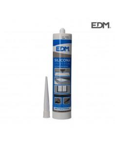 Silicona universal translucida edm acida  280ml l-061219