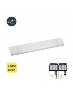 Regleta electronica led 48w 121cm 4.000k luz dia 4200 lumens edm