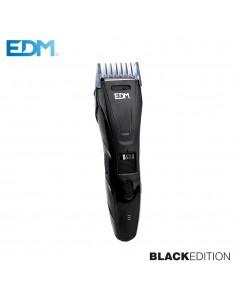 "Maquina corta cabellos - ""black edition"" - recargable - edm"