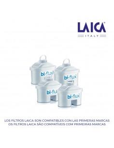 S.of.   kit 3+1 filtros laica biflux f4m2b28t150