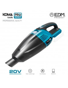 Aspiradora 20v (sin bateria y cargador)  koma tools pro series battery edm