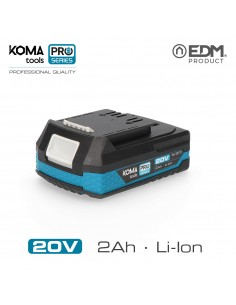 Bateria litio 20v 2.0ah koma tools pro series battery edm