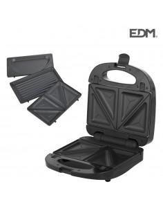 Sandwichera 3 en 1 750w edm black edition