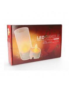 *ult.unidades*  vela luminosa con led recargable set de 4 unidades