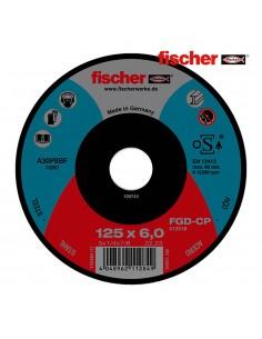 Disco fgd-cp 125x6x22,23 carbon desbaste fischer