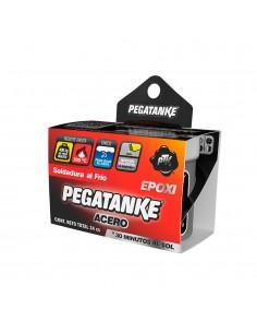 Pegatanke epoxico acero negro 32gr