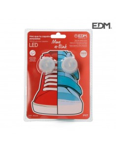 Pack 2 luces leds para cordones zapatos