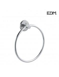 Toallero de anilla - cromado - (envasado) - edm