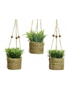 Planta artificial colgada modelos varios