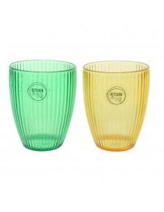 Vaso acrilico 8,5x11cm colores surtidos