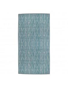 Alfombra para exterior color azul verano 180x120cm