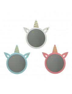 Espejo infantil unicornio 45cm modelos surtidos