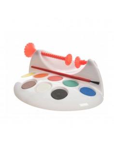 Soporte para pintar huevos pascua con pintura
