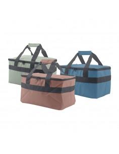Nevera tipo bolsa 14l 33x21x20,5cm colores surtidos
