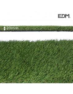 Cesped artificial graceful 20mm 1x5m edm