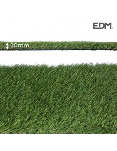 Cesped artificial graceful 20mm 2x5m edm