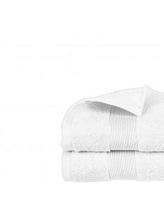 Toalla de rizo 450g color blanco 30x50