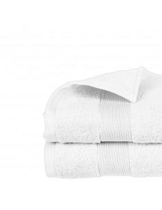 Toalla de rizo 450g color blanco 50x90