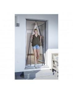 Mosquitera en cortina magnetica antracita 120x240cm