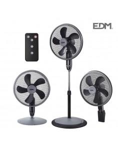 Ventilador 3 en 1 55w black series edm