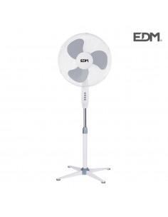 Ventilador pie 45w diam45cm aspas 40cm altura regulable 60-80cm edm