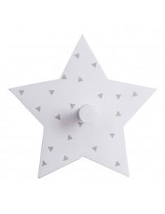 Colgador infantil decorativo modelo estrella colores surtidos