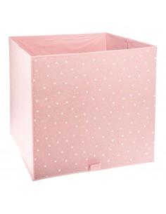 Cesta ordenación infantil color rosa