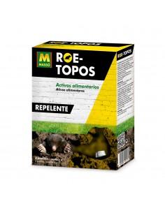 Repelente para topos con activos alimentarios