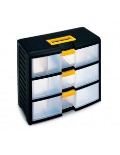 Cajonera 3 cajones storage con cierre 39,1x19,7x33,4cm