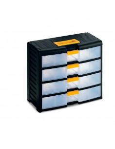 Cajonera 4 cajones storage con cierre 39,1x19,7x33,4cm