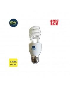 *ult.unidades* bombillas bajo consumo espiral 12v e27 15w edm