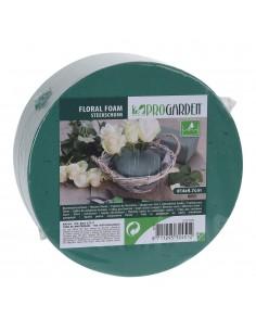 Espuma cilindrica para centro de flores dia14xh7cm