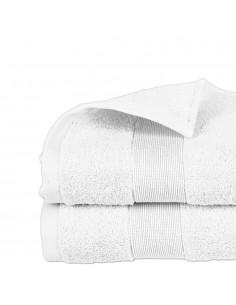 Toalla de rizo 450g color blanco 70x130