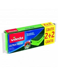 Salva uñas verde 2+2 ultrafresh 162295 vileda