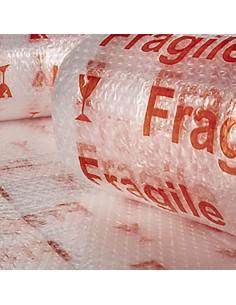 Burbuja transp (fragil) impreso 1,20x5m