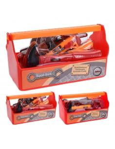 Maletin con herramientas de juguete