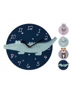 Reloj pared 26 cm infantil modelos surtidos