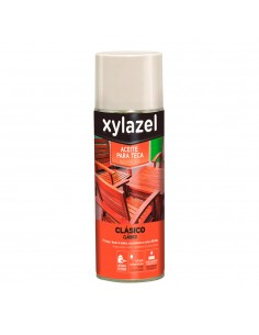Xylazel aceite para teca spray incoloro 400ml