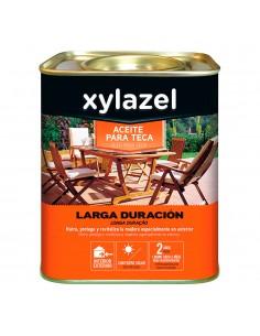 Xylazel aceite para teca larga duracion color nogal 750ml