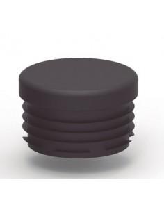 TAPA PLASTICO Ø60mm NEGRO de alumabe