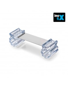 Retenedor puerta flexible transparente blister inofix