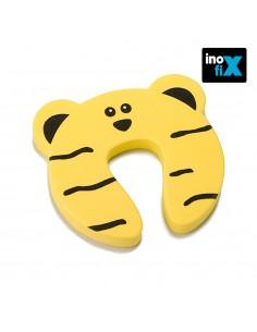 Tope salva dedos puertas amarillo blister inofix