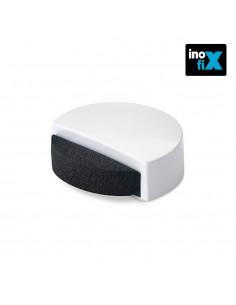 Tope adhesivo silencioso blanco blister inofix