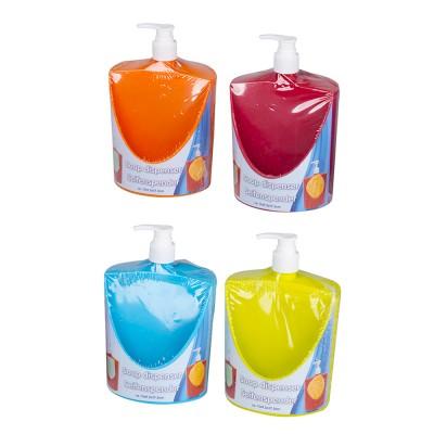 Dosificador de jabon con soporte para esponja