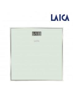Bascula electronica para baño color blanca máx.150kg laica