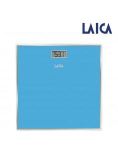 Bascula electronica para baño color azul máx.150kg laica